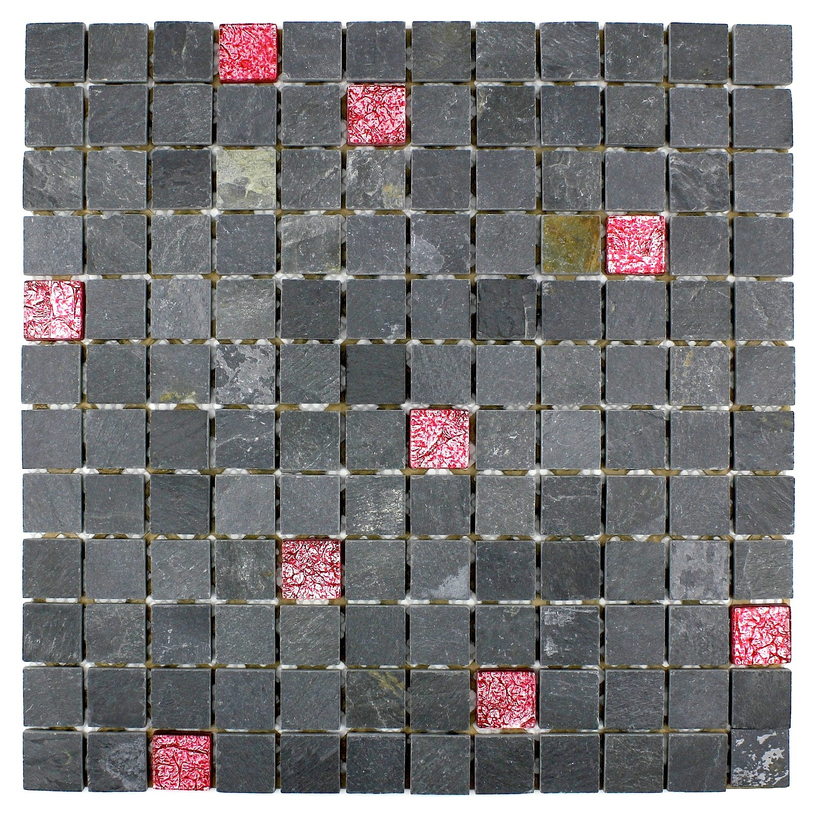 Carrelage mosaique for Carrelage ardoise noir