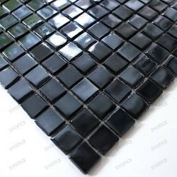 mosaique pate de verre Imperial Noir