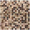 Malla mosaico azulejo vidrio y piedra Ditto