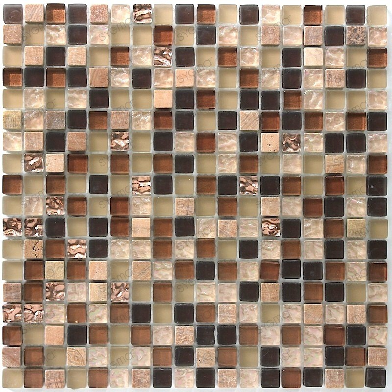 mosaic tiles glass and stone Ditto