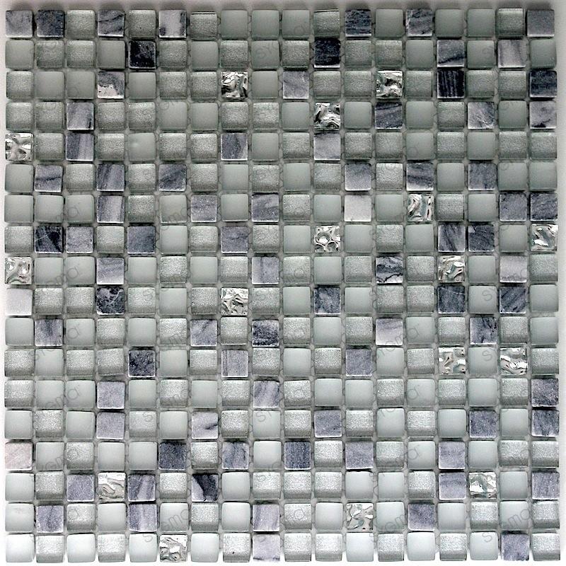 mosaico de vidrio y piedra azulejo de vidrio y pierda 1 placa modelo bolivar carrelage mosaique. Black Bedroom Furniture Sets. Home Design Ideas