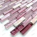 carrelage mosaique pierre et verre modele BOLERO BRIQUE