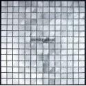 carrelage mosaique aluminium 1 plaque ALU 20