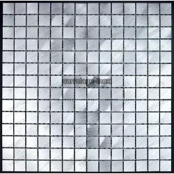 Mosaic aluminium splashback kitchen mosaic shower cm-alu20