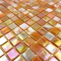 mosaique pate de verre RAINBOW PETROLE