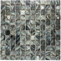 azulejo mosaico de perla modelo PERLA 23 NEGRO