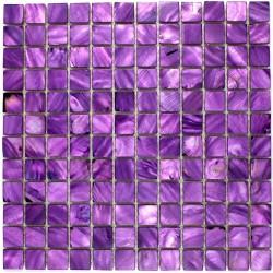 Mosaico de perla, azulejo de perla, modelo PERLA 23 violeta