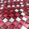 mosaique aluminium modele SLOT ROUGE