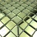 mosaique verre carrelage effet miroir REFLECT GOLD