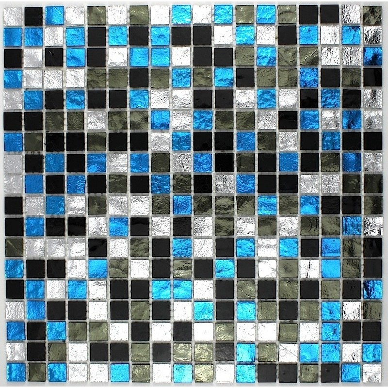 mosaico ducha vidrio mosaic baño frente cocina Strass Suki