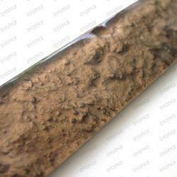 frise en verre mosaique Fronto brun