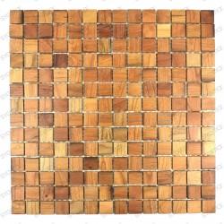 Mosaic bathroom splashback kitchen mosaic palonia wooden