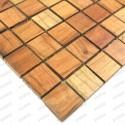 mosaique en bois bambou modèle PALONIA