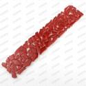 frise mosaique en verre Osmose Rouge