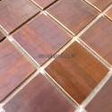 carrelage en inox modele REGULAR48 BRONZE