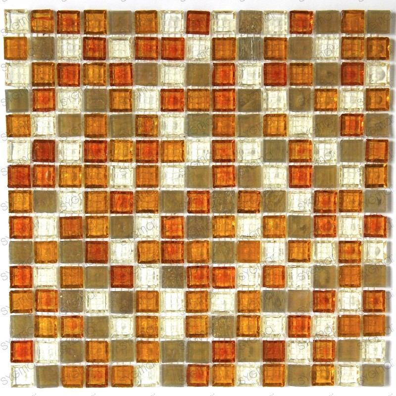 Mosaic glass shower baincrystal icon carrelage mosaique for Mosaica carrelage