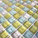 mosaïque de verre modèle CRYSTAL JIMY