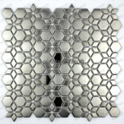 Mosaico en acero inoxydable modelo STAR