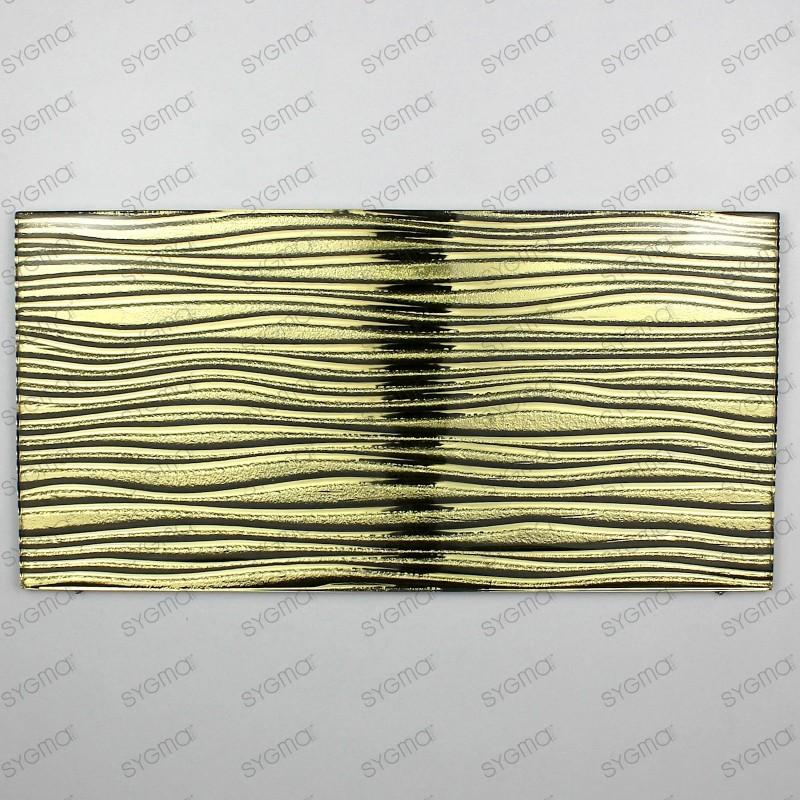 carreaux en verre métallisé modèle ARCO OR