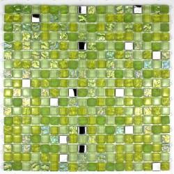 mosaico vidrio, frente cocina, ducha mosaico, mosaico baño cm-harris vert