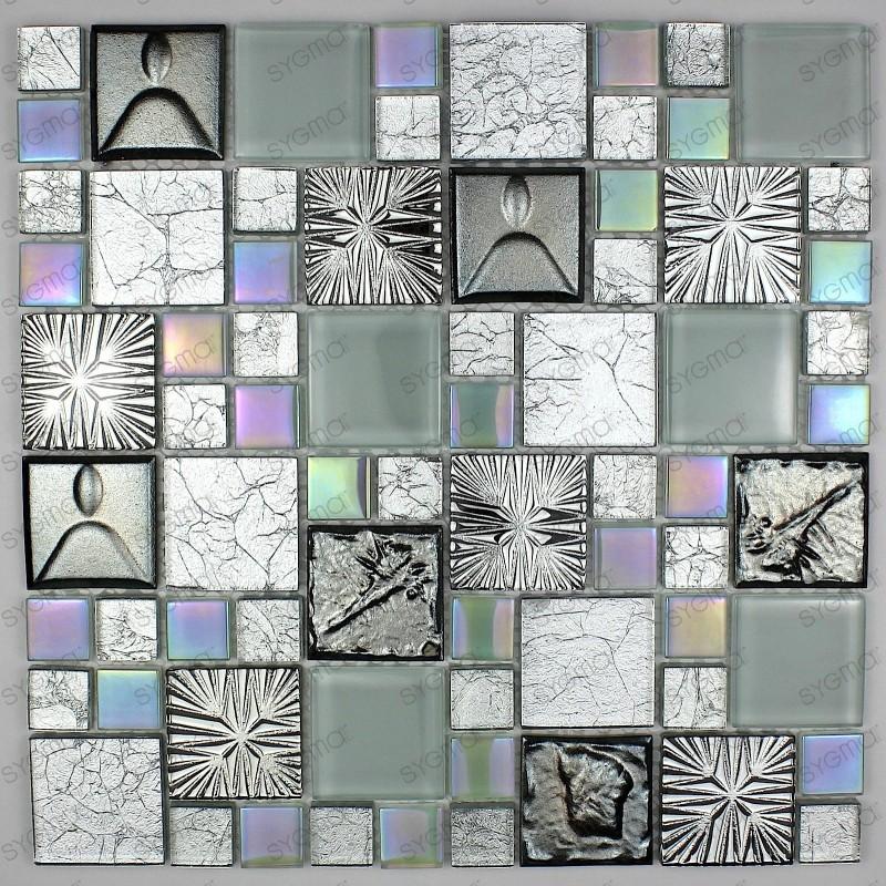 carrelage verre et céramique mosaique lugano
