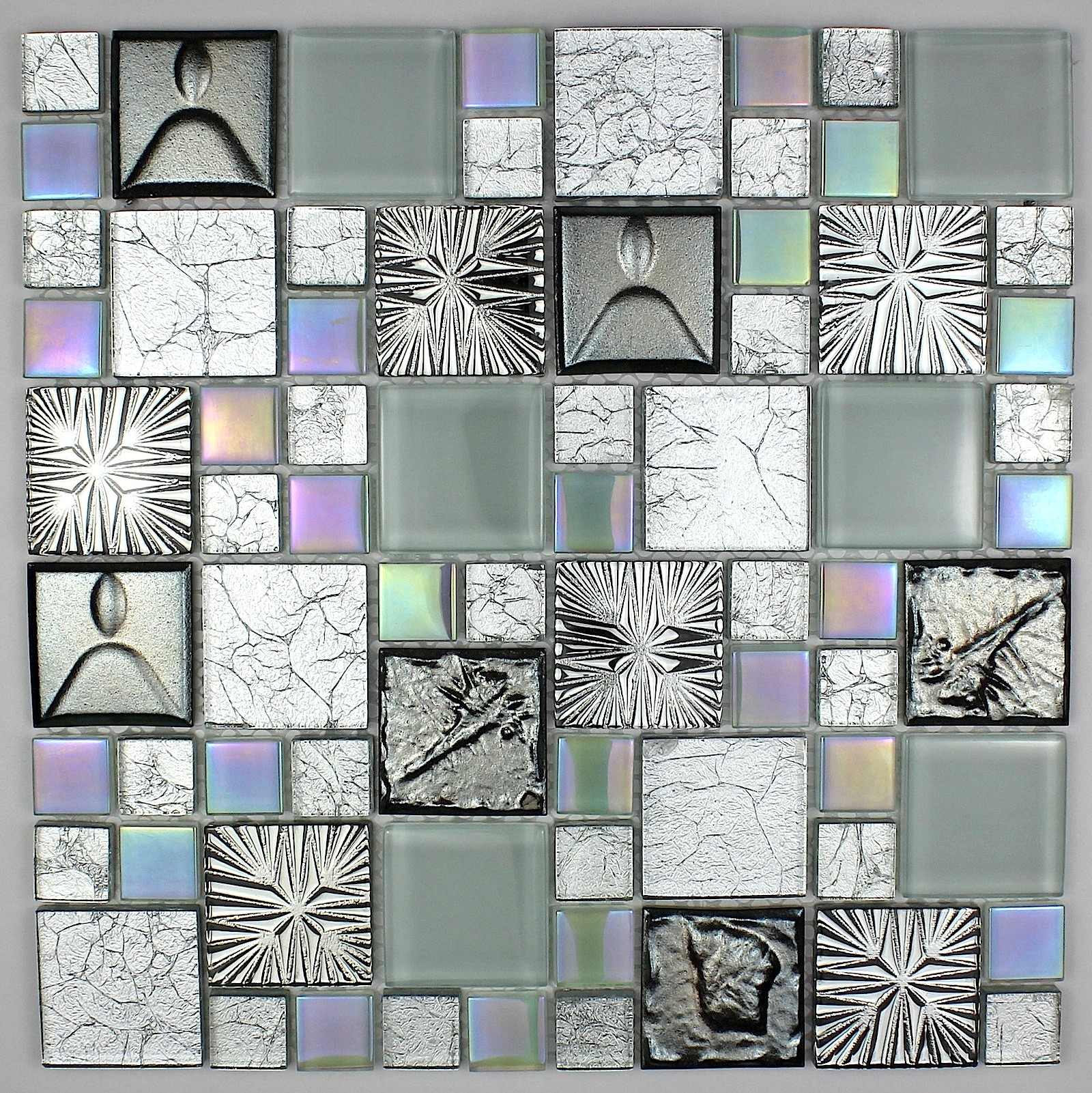 Tile glass and ceramic mosaic CENOVO - carrelage-mosaique