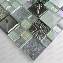 Tile glass and ceramic mosaic Lugano
