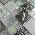 mosaico vidrio muro ducha baño o cocina Lugano