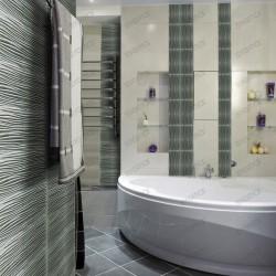 azulejo de cristal metálico panel azulejos cocina modelo Vector Argent