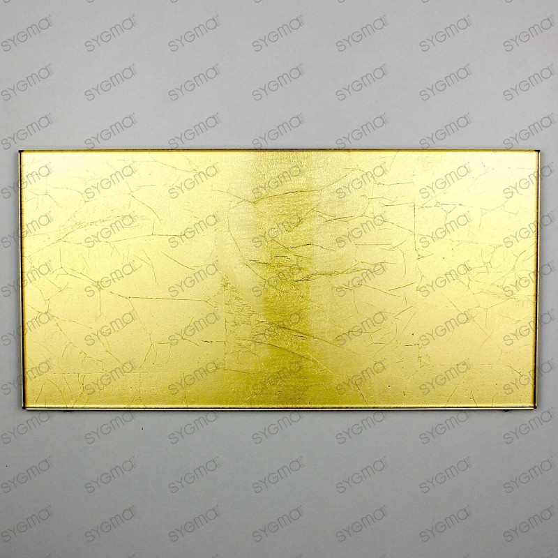 carrelage en verre métallisé modèle INDIVO OR