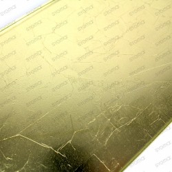 carrelage en verre métallisé modèle Ankara Or