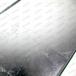 carreau en verre métallisé modèle INDIVO ARGENT