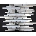 Mosaico en acero inoxydable modelo MULTI WAVE