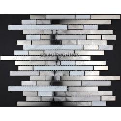 Mosaico en acero inoxydable cocina baño cm-MULTI WAVE
