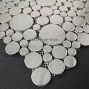 carrelage inox mosaique inox 1 plaque Focus Miroir