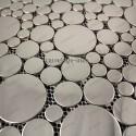 Mosaico en acero inoxydable modelo Focus Miroir