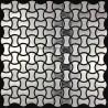 mosaico acero inoxidable cocina ducha ellipse