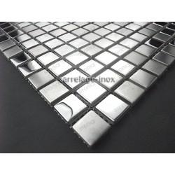 stainless steel tile kitchen splashback stainless steel mosaic Fusion