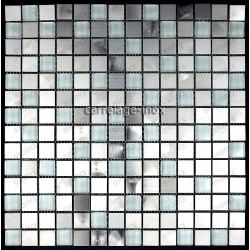 mosaico acero inoxidable cocina ducha cm-multi reg