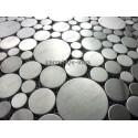 mosaico acero inoxidable cocina ducha loop