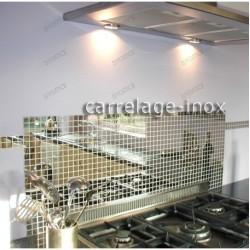 mosaico acero inoxidable cocina ducha cm-miroir 25
