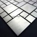 mosaico acero inoxidable cocina ducha laska