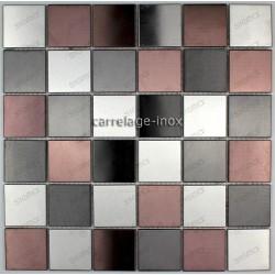 plate stainless steel mosaic splashback kitchen cm-primea