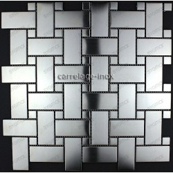 tiling kitchen stainless steel splashback tile stainless cm-Sonata