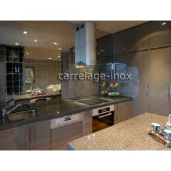 tiling kitchen stainless steel splashback tile stainless steel mirror-98 cm