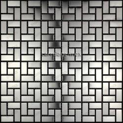 mosaico acero inoxidable cocina ducha cm-orion