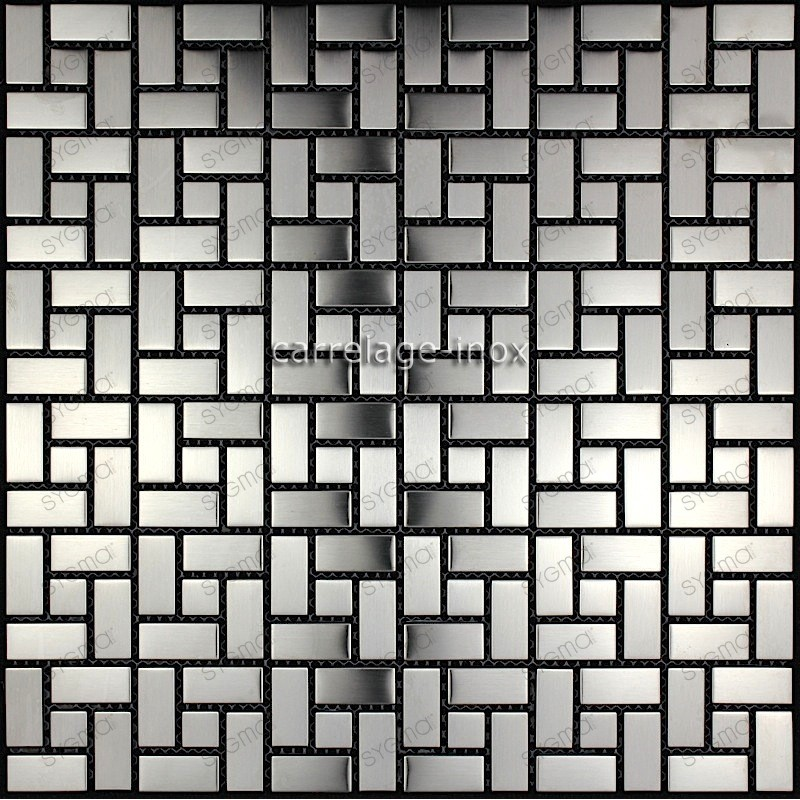 tiling kitchen stainless steel splashback tile stainless Hisa