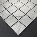 mosaico ducha acero cocina baño cm-regular 48 miroir