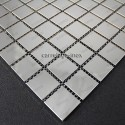 mosaico acero inoxidable cocina ducha cm-regular 30 miroir