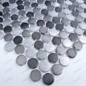 credence cuisine aluminium mosaique douche aluminium cm-circlegris